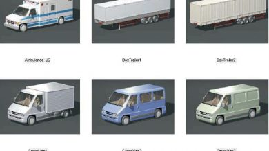 Dosch 3D: Utility Vehicles free download