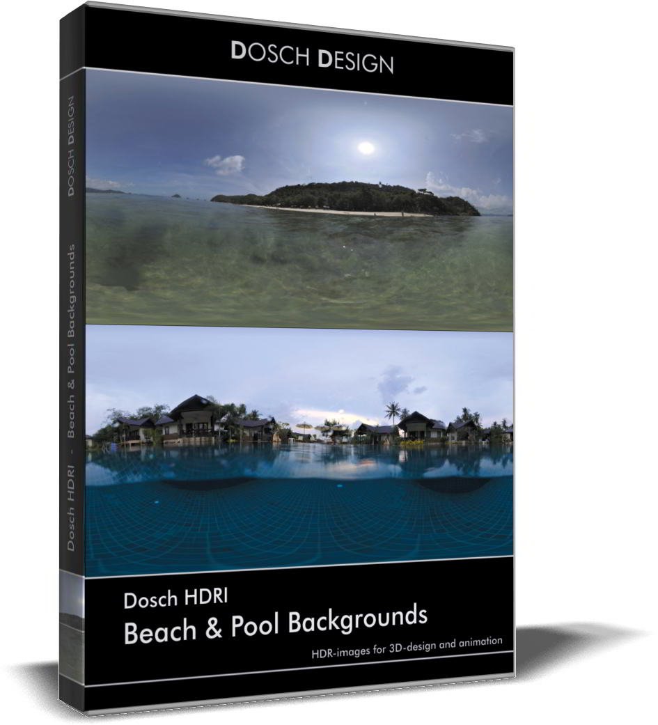 Dosch HDRI: Beach & Pool Backgrounds free download
