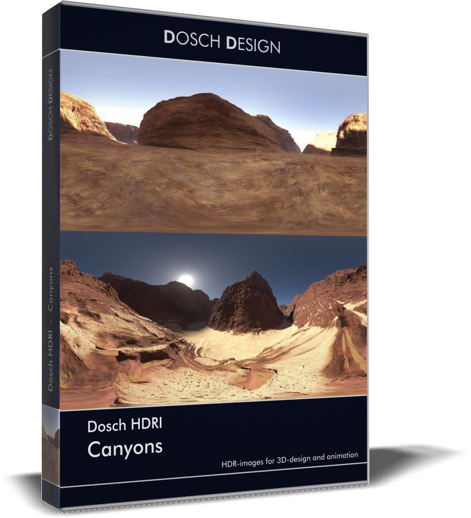 Dosch HDRI: Canyons free download