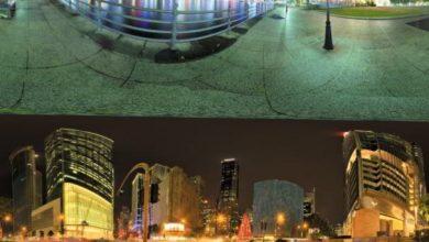 Dosch HDRI: City At Night free download