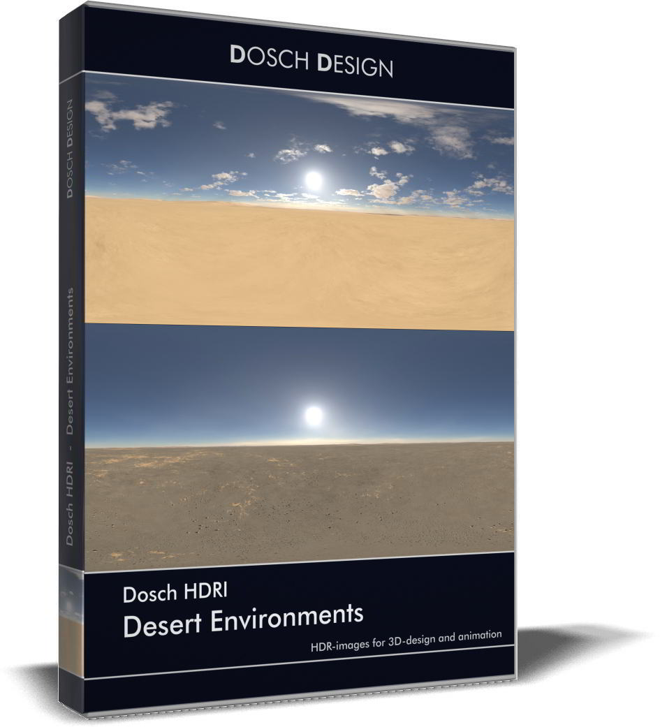 Dosch HDRI: Desert Environments free download