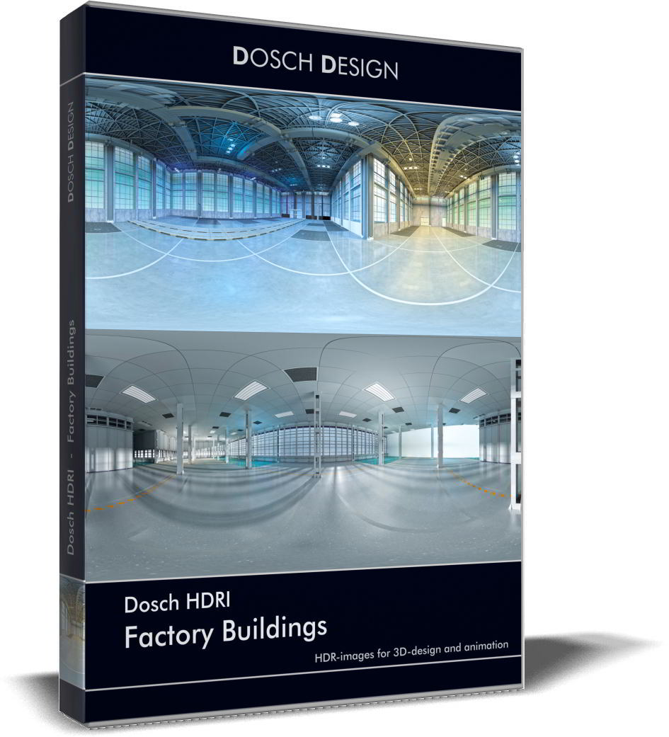 Dosch HDRI: Factory Buildings free download