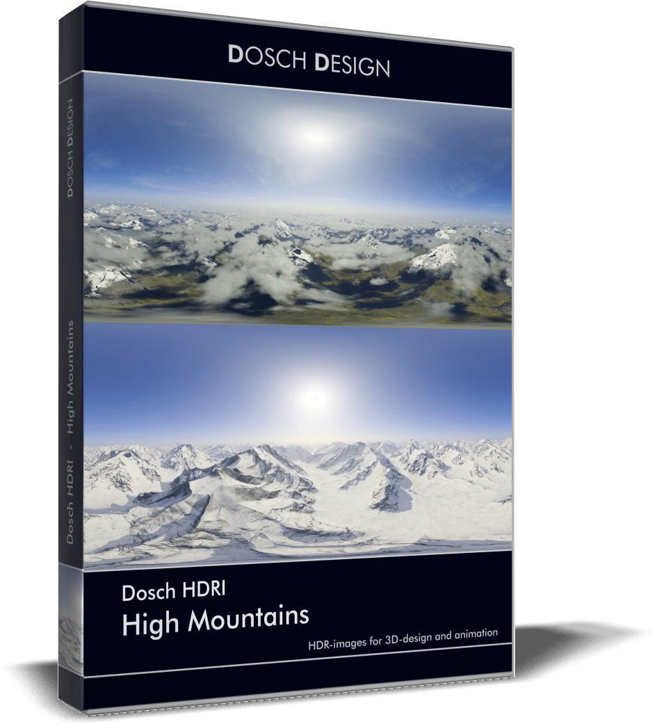 Dosch HDRI: High Mountains free download