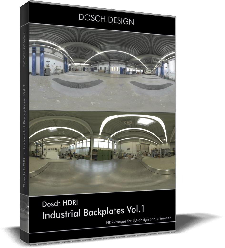 Dosch HDRI: Industrial Backplates Vol.1 free download