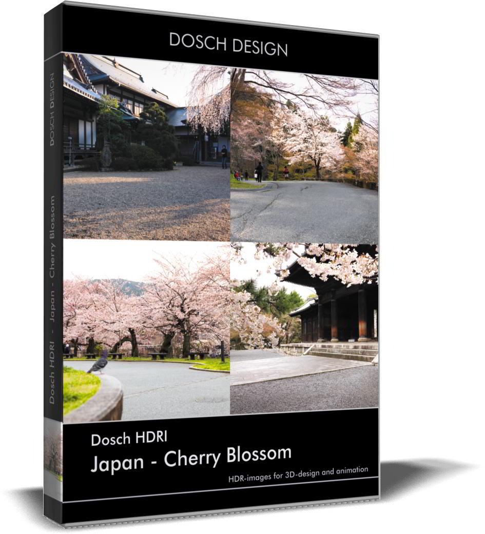 Dosch HDRI: Japan – Cherry Blossom free download