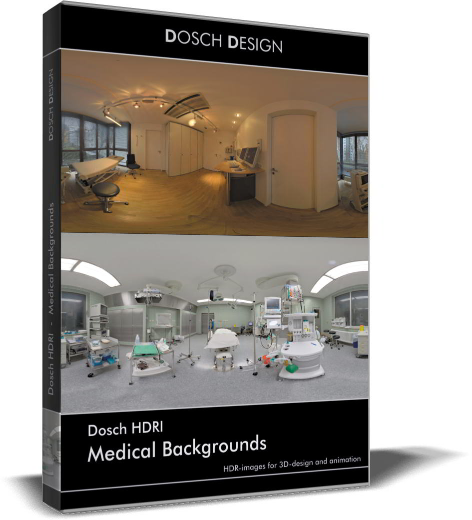 Dosch HDRI: Medical Backgrounds free download