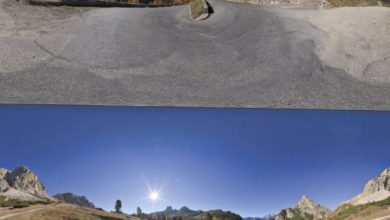 Dosch HDRI: Mountain Backgrounds