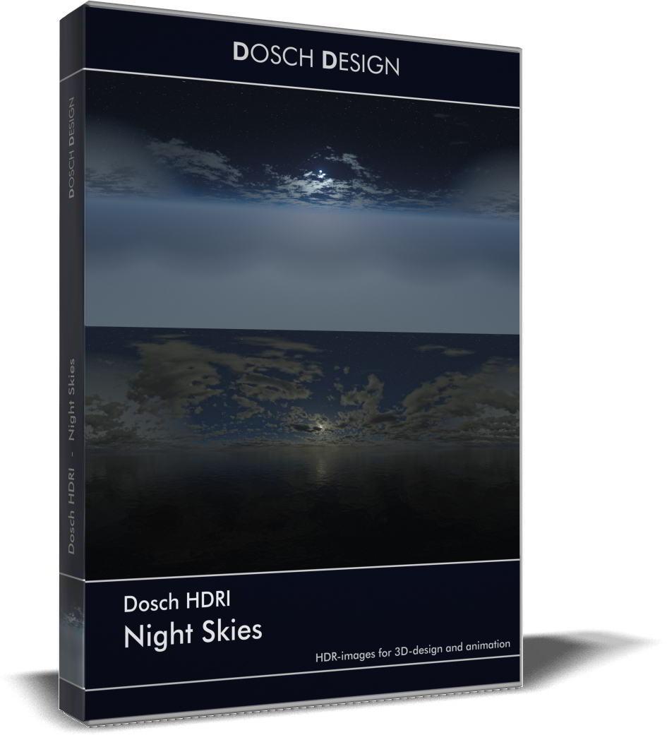 Dosch HDRI: Night Skies free download