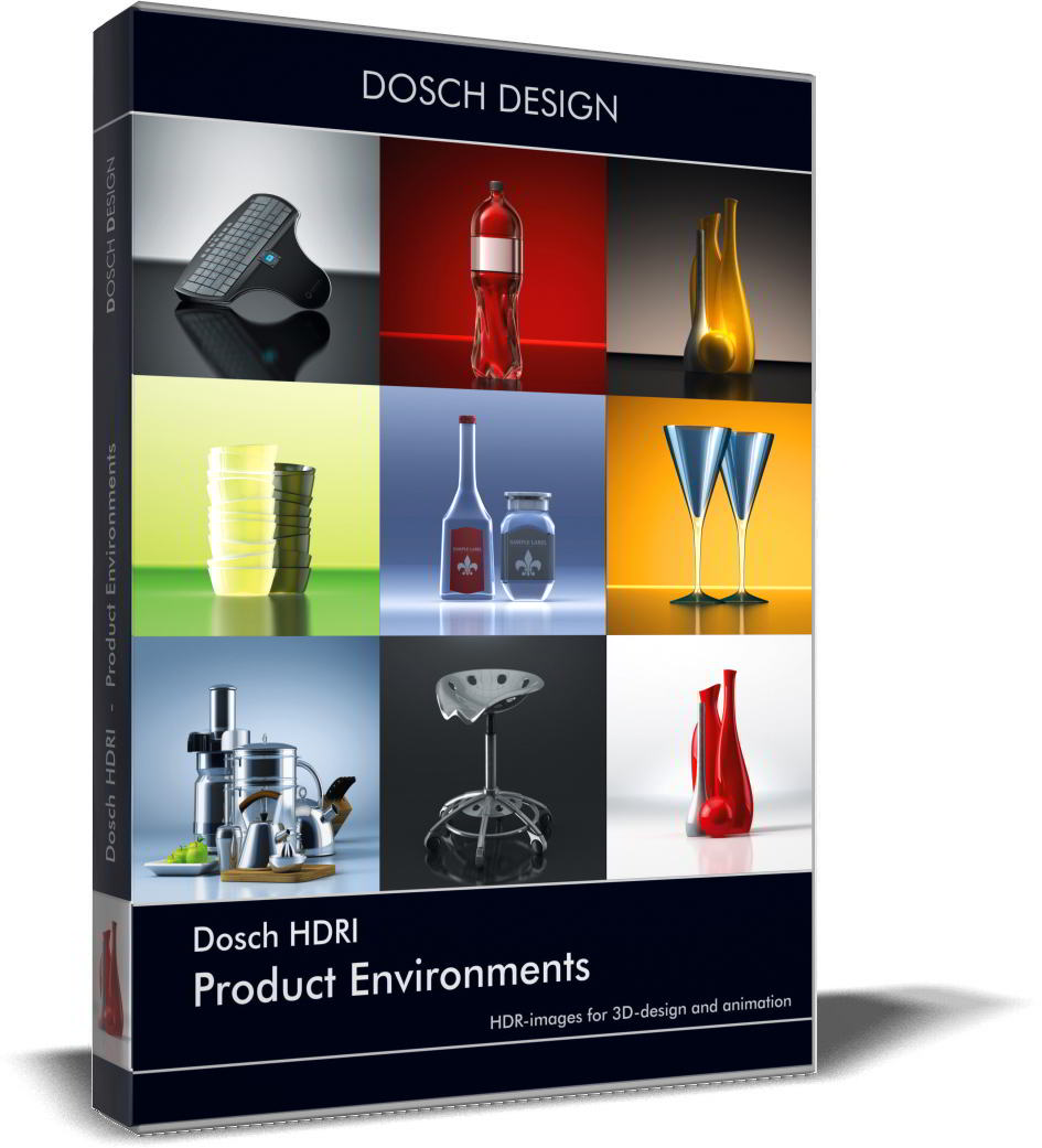 Dosch HDRI: Product Environments free download