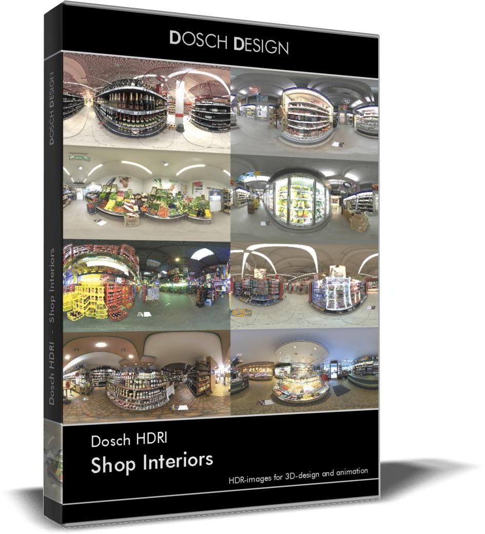 Dosch HDRI: Shop Interiors free download