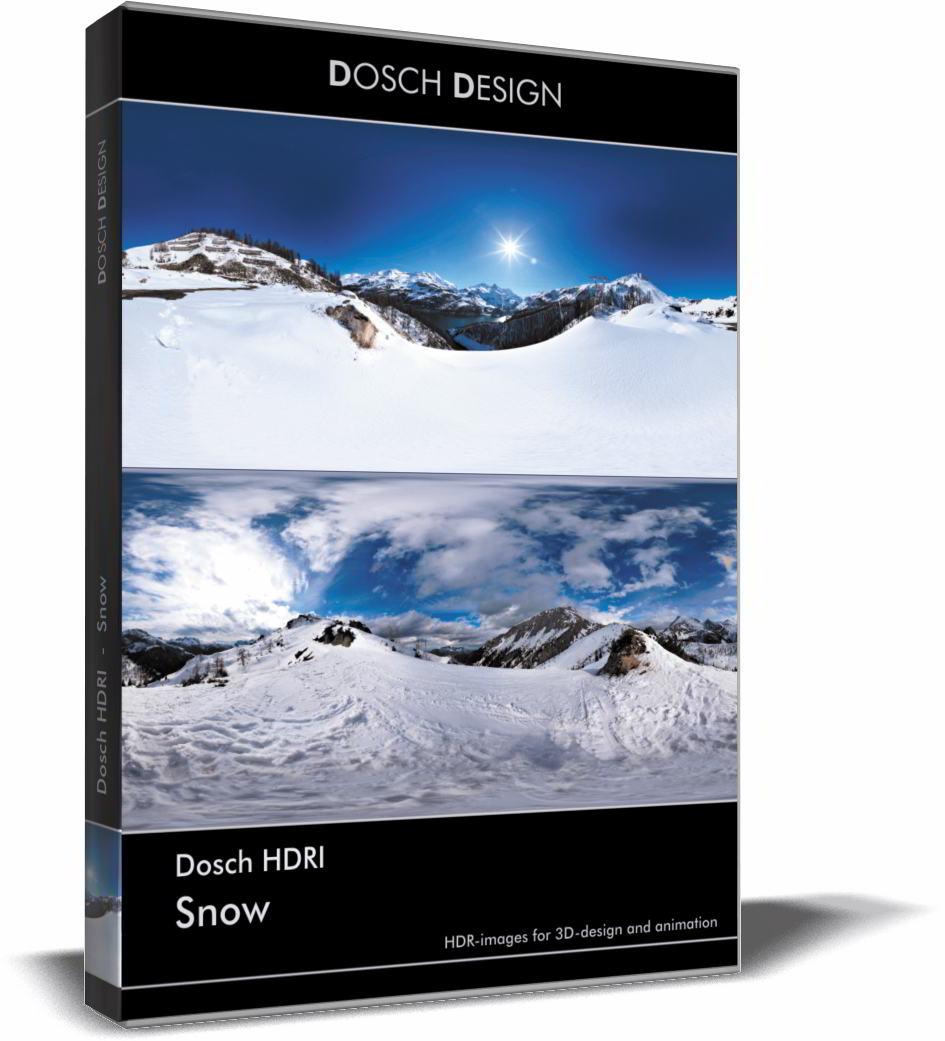 Dosch HDRI: Snow free download