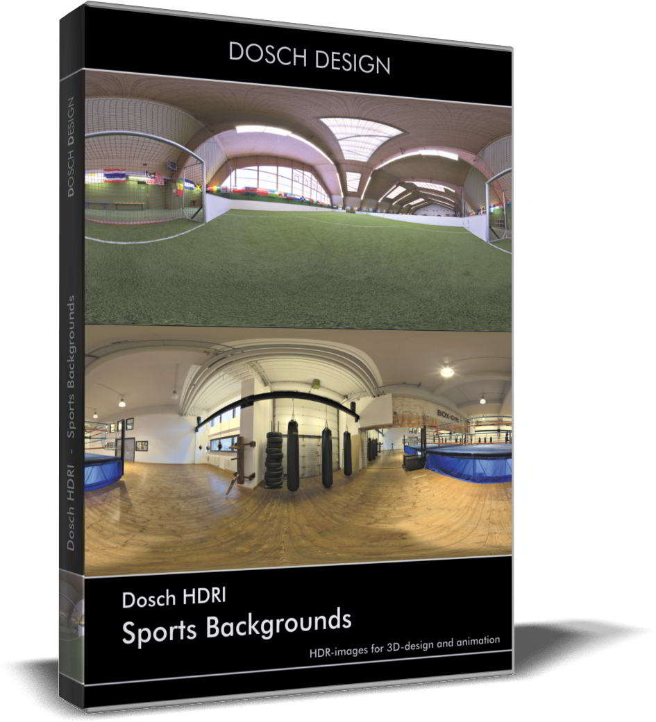 Dosch HDRI: Sports Backgrounds free download