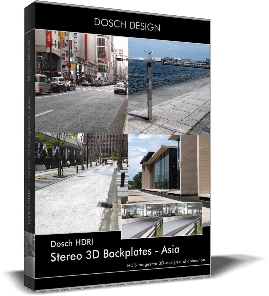 Dosch HDRI: Stereo 3D Backplates - Asia free download