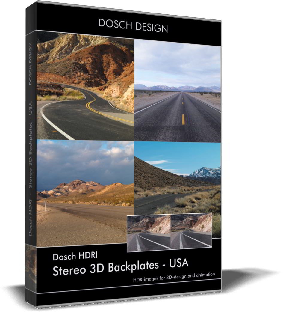 Dosch HDRI: Stereo 3D Backplates - USA free download