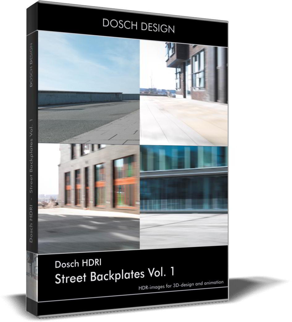 Dosch HDRI: Street Backplates Volume 1 free download