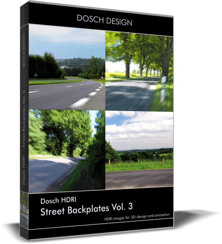 Dosch HDRI: Street Backplates Volume 3 free download