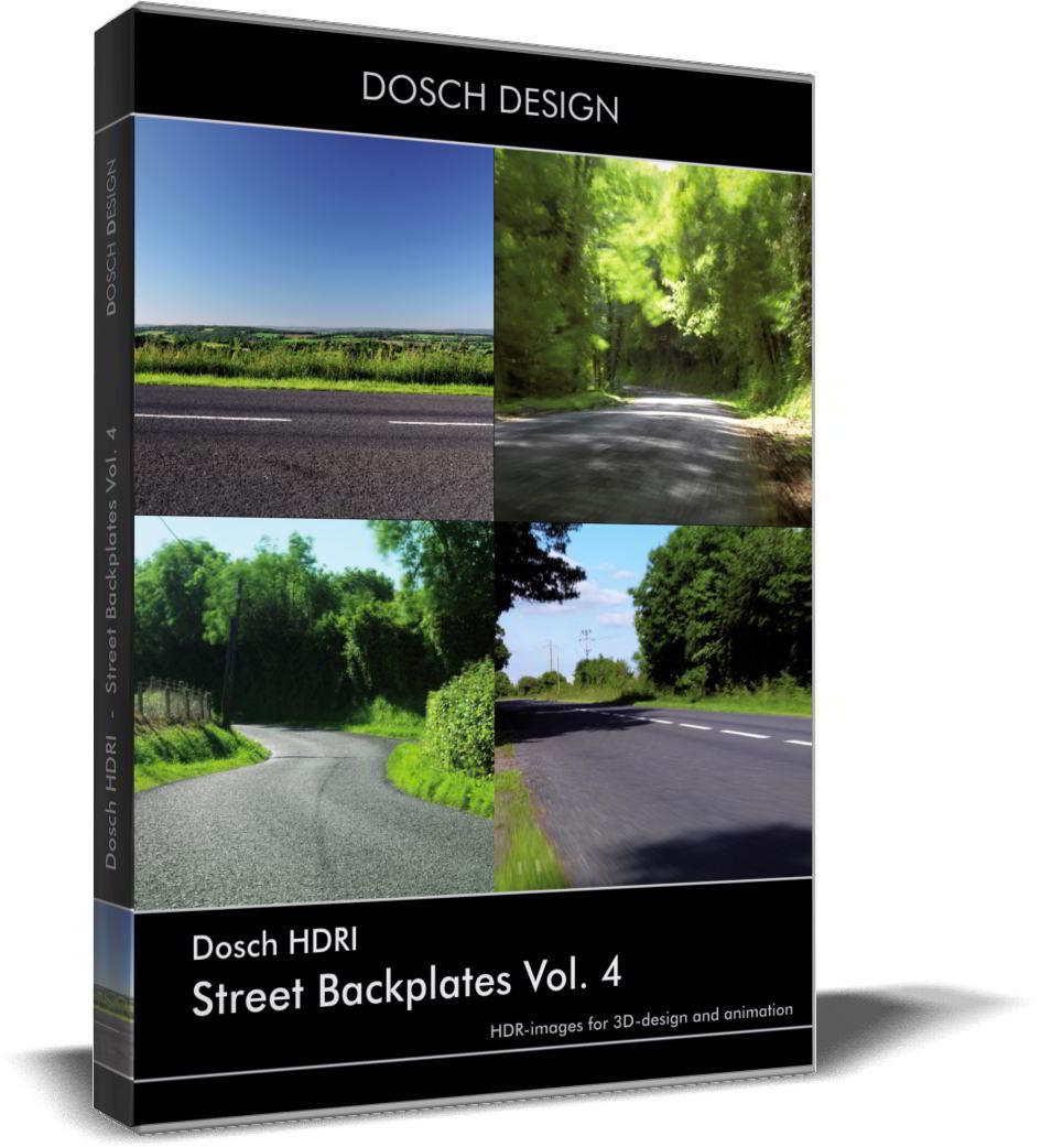 Dosch HDRI: Street Backplates Volume 4 free download