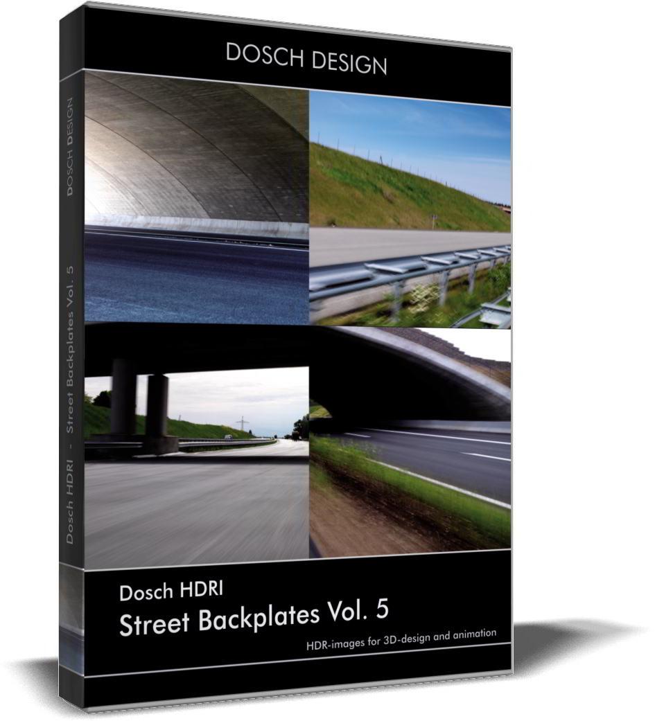 Dosch HDRI: Street Backplates Volume 5 free download