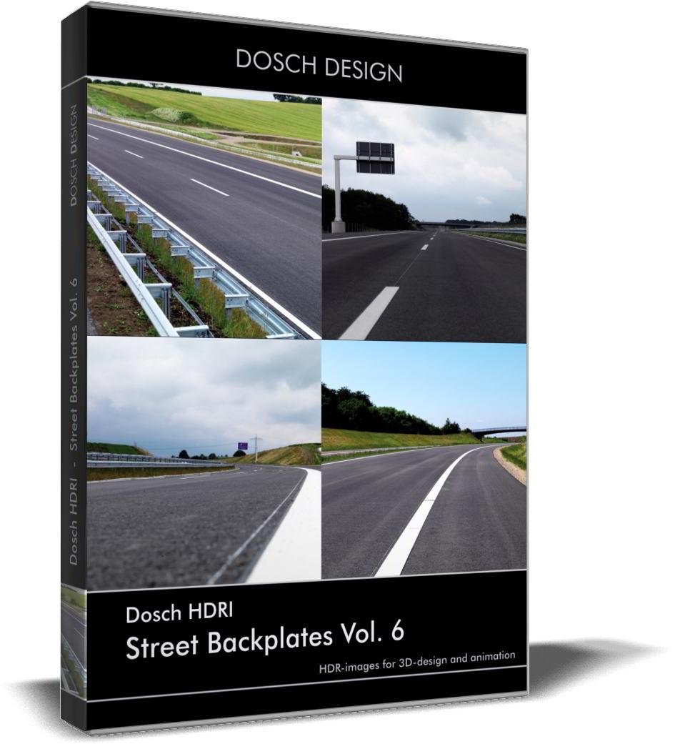 Dosch HDRI: Street Backplates Volume 6 free download