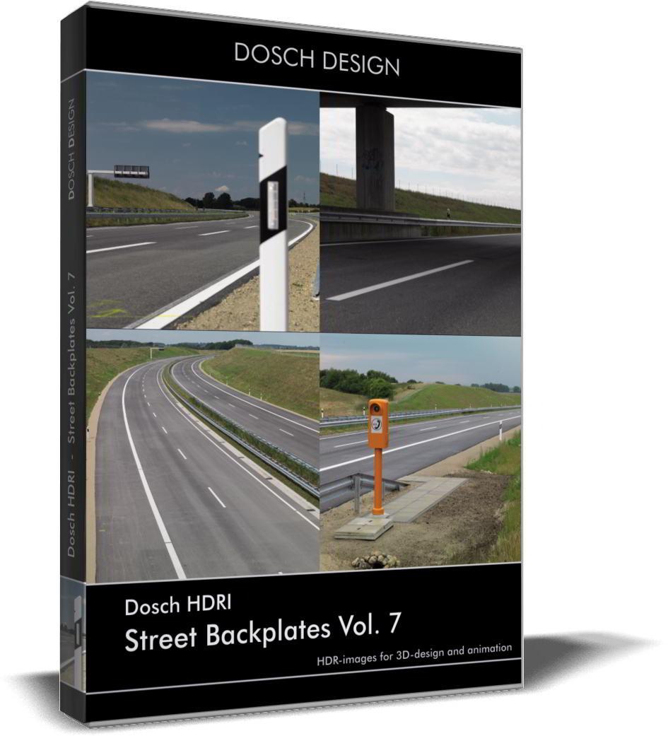 Dosch HDRI: Street Backplates Volume 7 free download