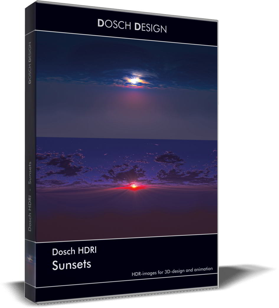 Dosch HDRI: Sunset free download