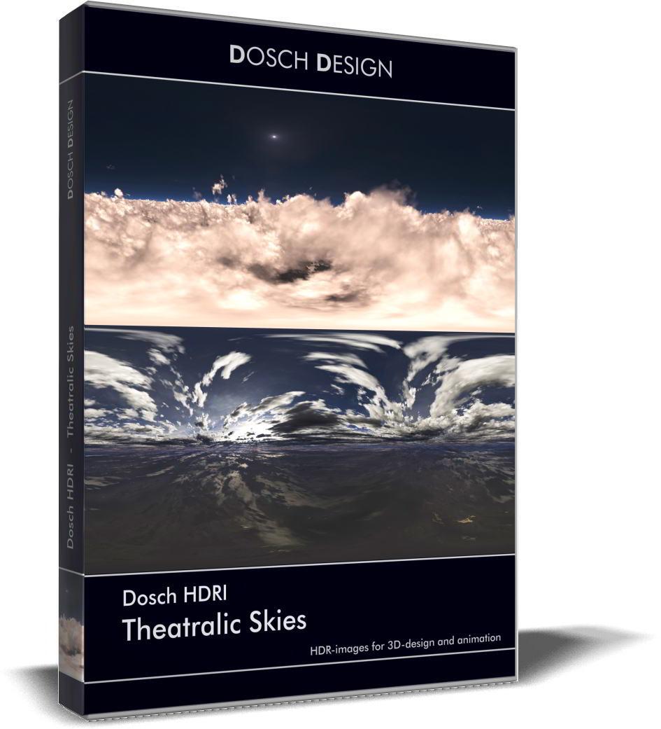 Dosch HDRI: Theatralic Skies free download