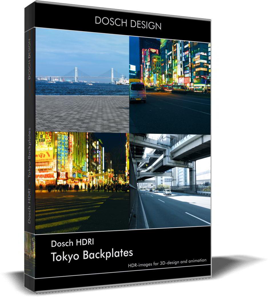 Dosch HDRI: Tokyo Backplates free download