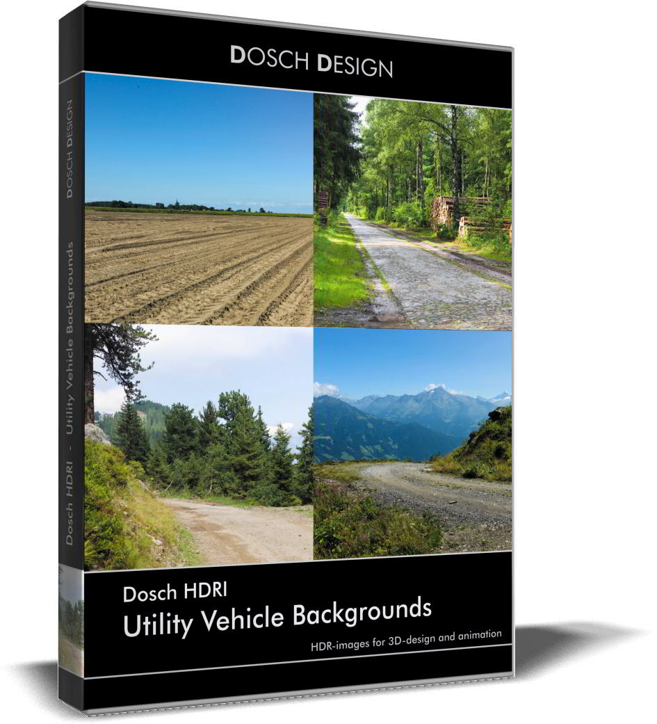 Dosch HDRI: Utility Vehicle Backgrounds free download