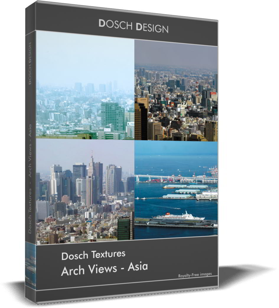DOSCH Textures: Arch Views - Asia free download