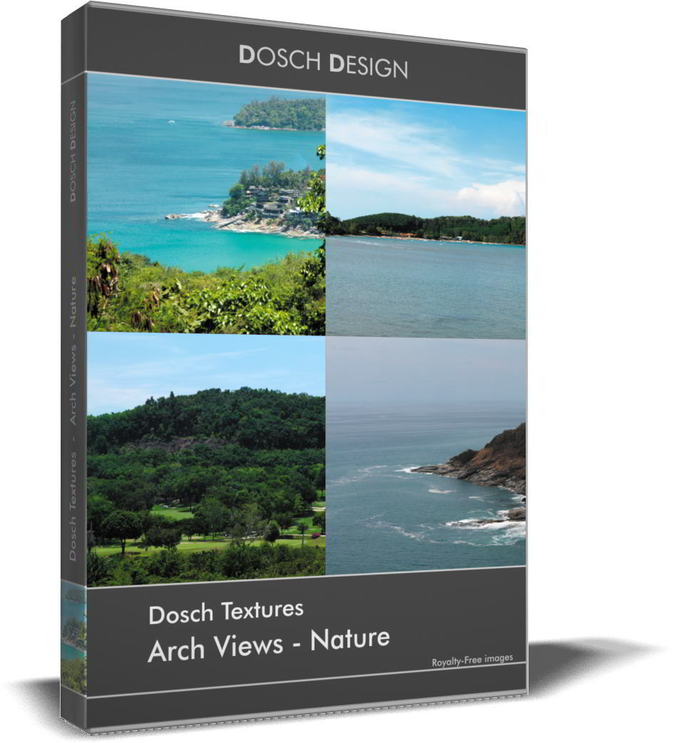 DOSCH Textures: Arch Views - Nature free download