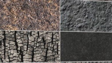 DOSCH Textures: Burnt Surfaces