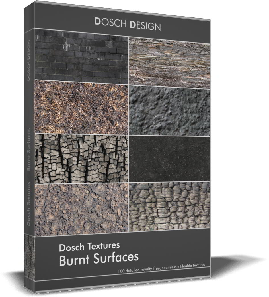 DOSCH Textures: Burnt Surfaces free download