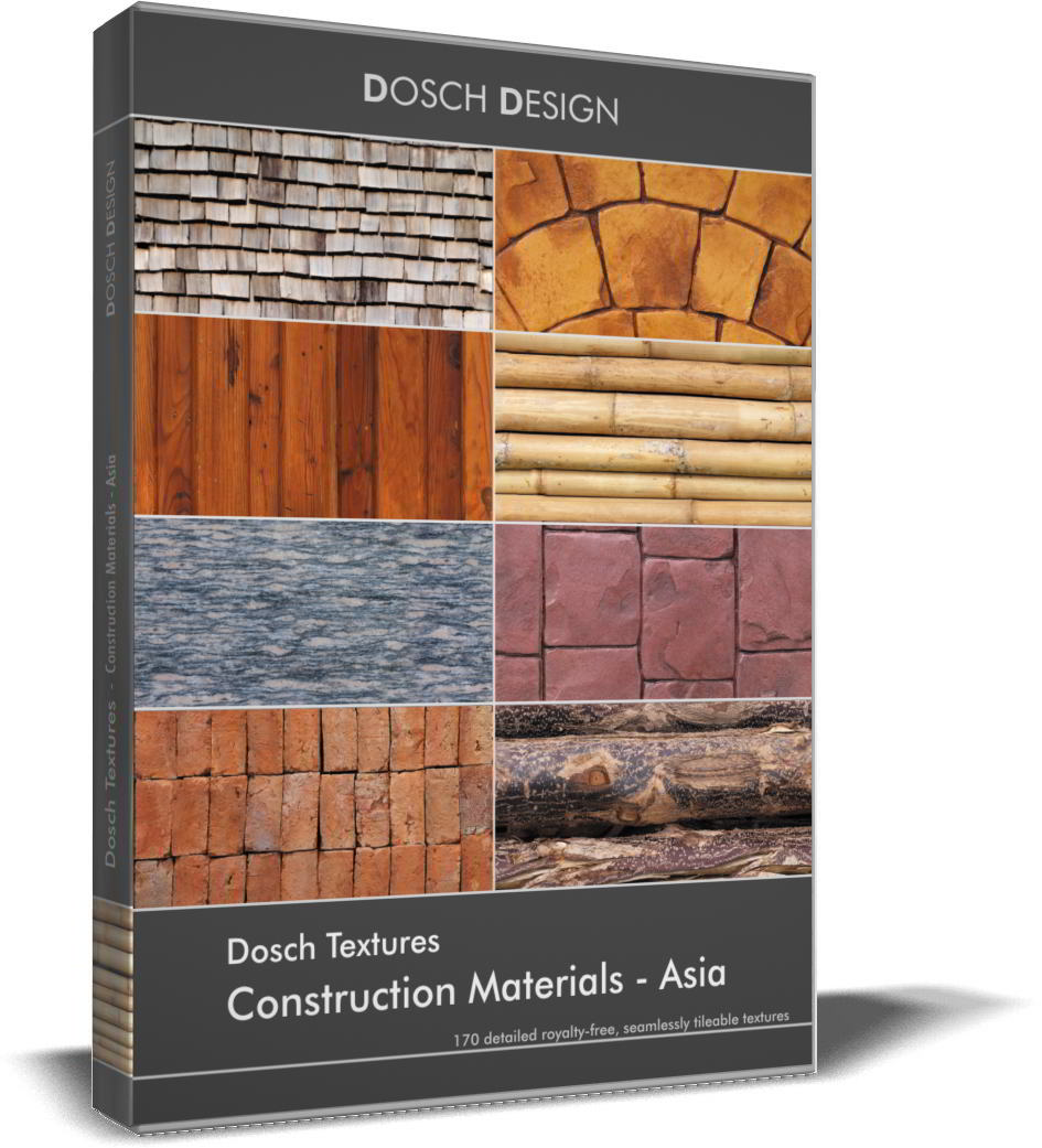 DOSCH Textures - Construction Materials - Asia free download