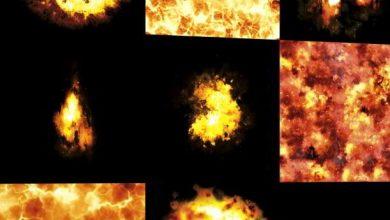 Dosch Textures: Fire & Explosions