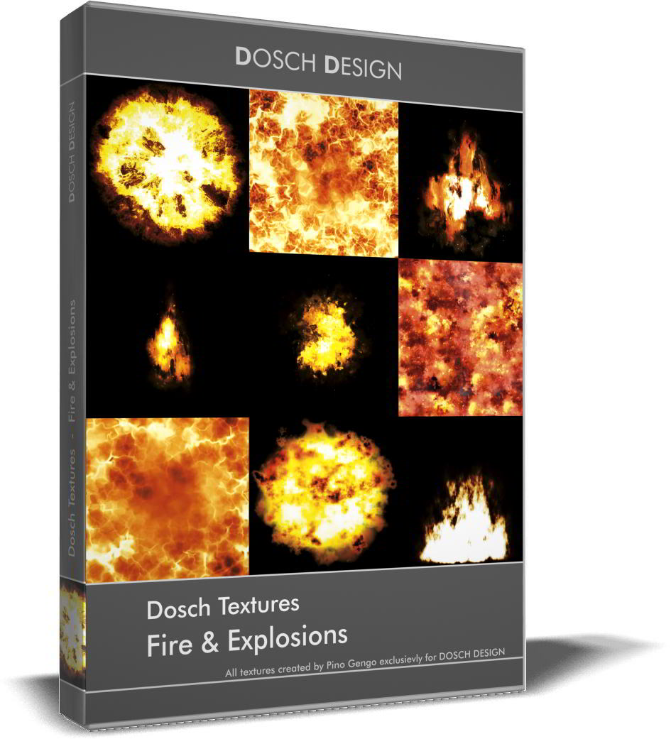 Dosch Textures: Fire & Explosions free download