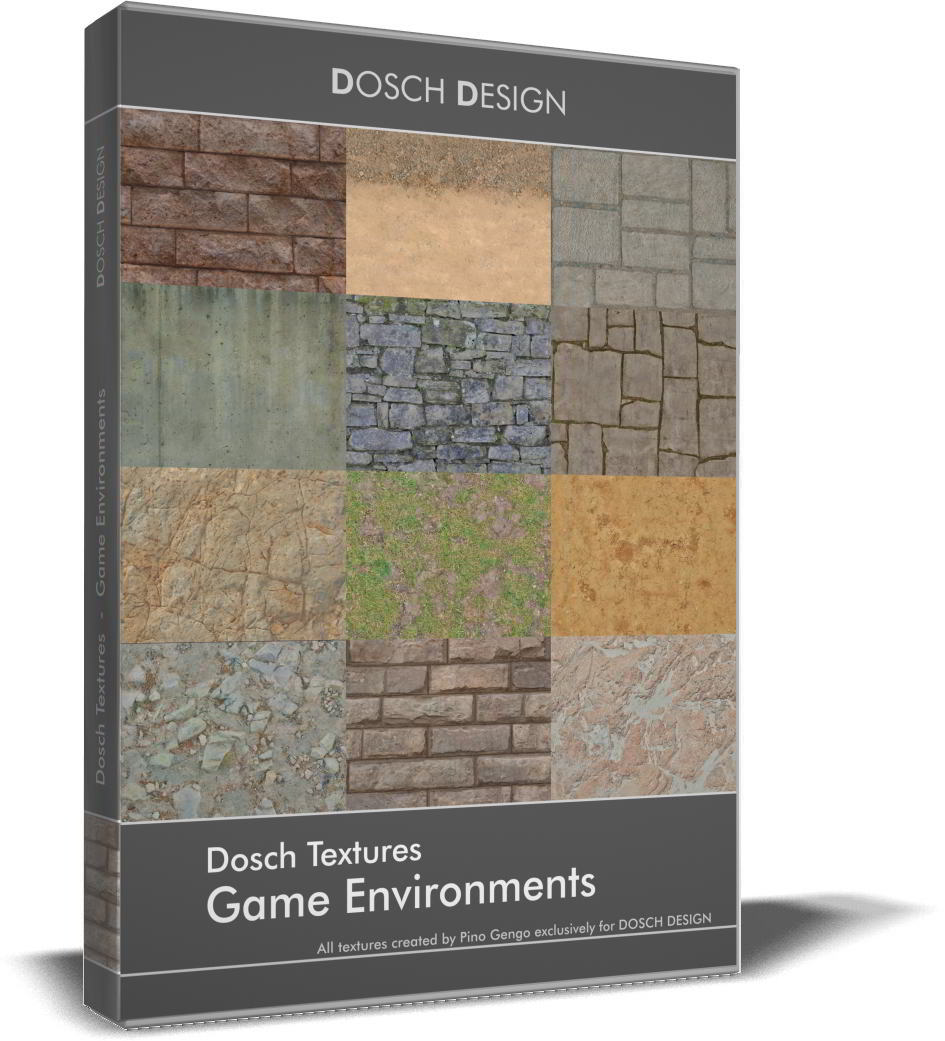 Dosch Textures: Game Environments free download