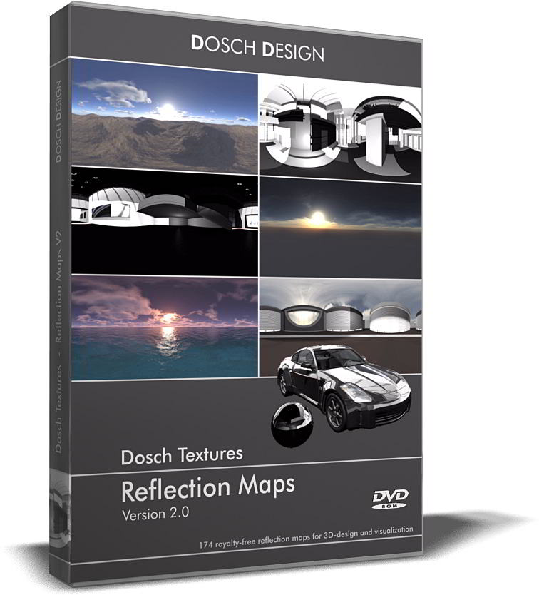 Dosch Textures: Reflection Maps V2.0 free download