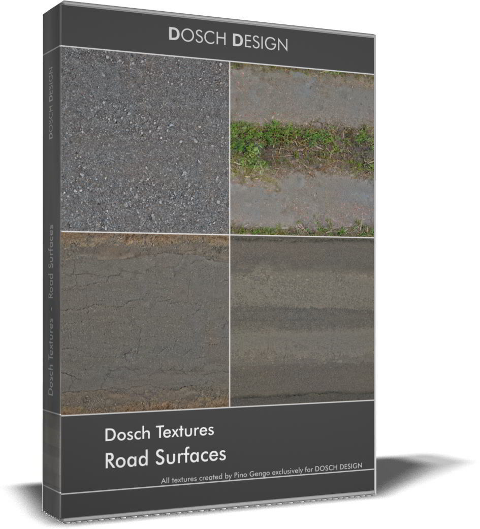 Dosch Textures: Road Surfaces free download