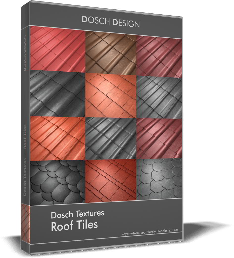 Dosch Textures: Roof Tiles free download
