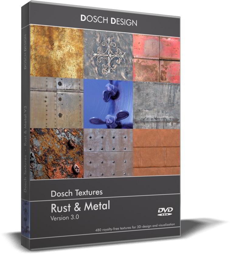 Dosch Textures: Rust & Metal V3 free download