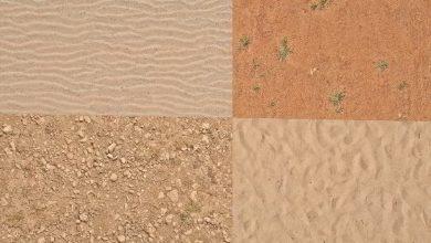 Dosch Textures: Sand Ground