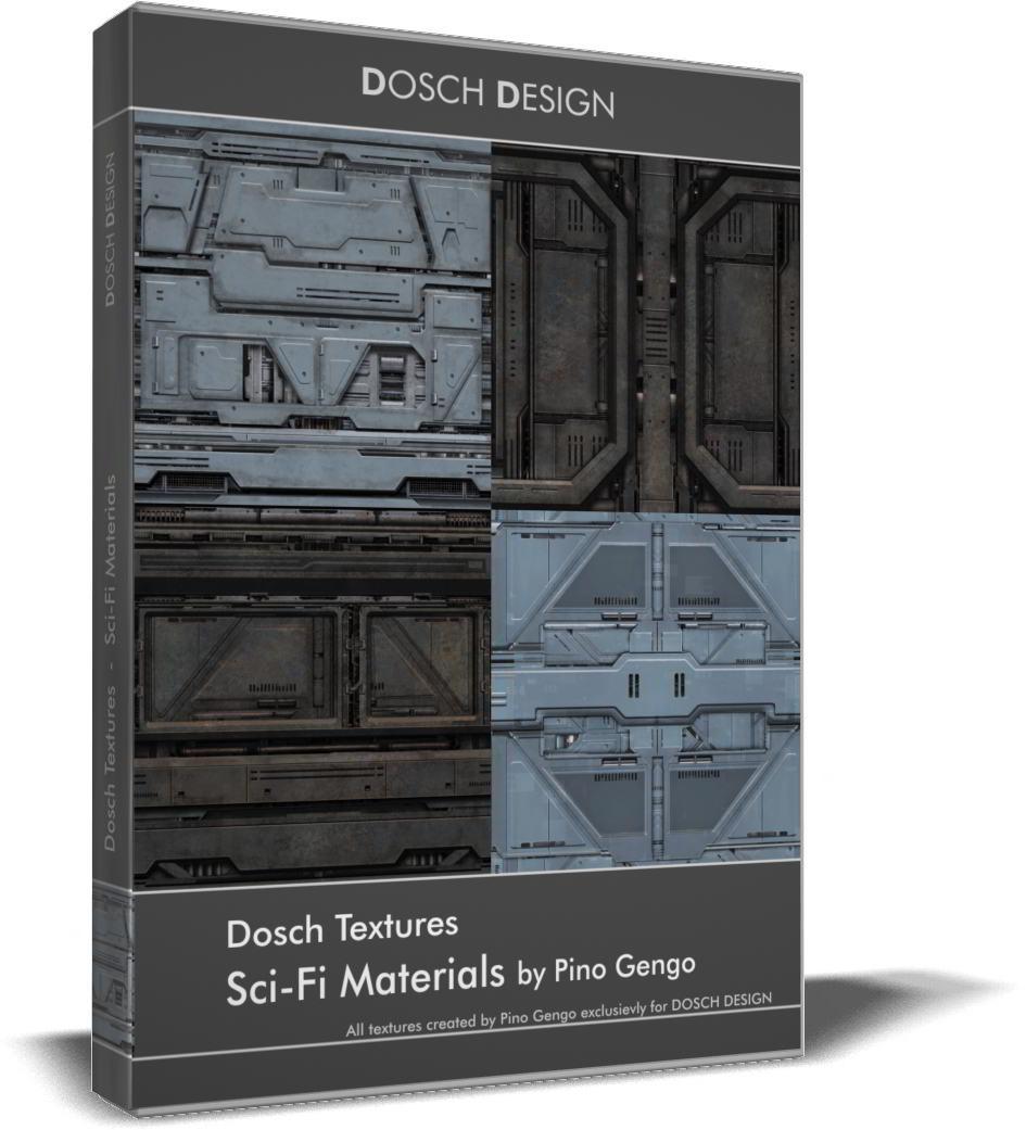 Dosch Textures: Sci-Fi Textures free download