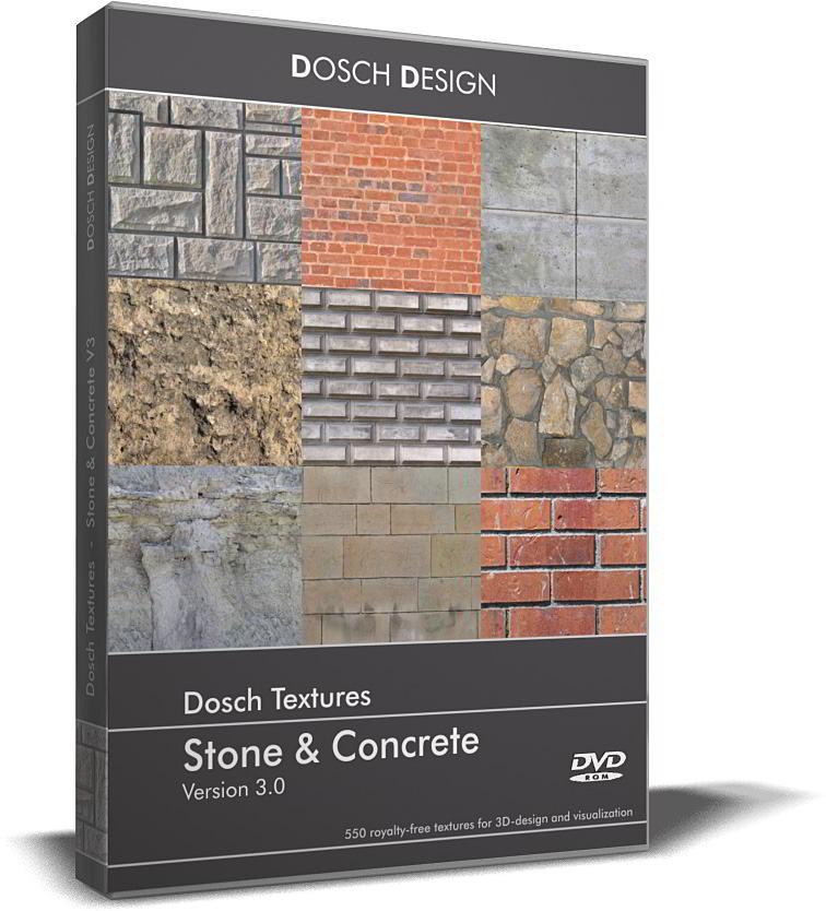 Dosch Textures: Stone & Concrete V3 free download