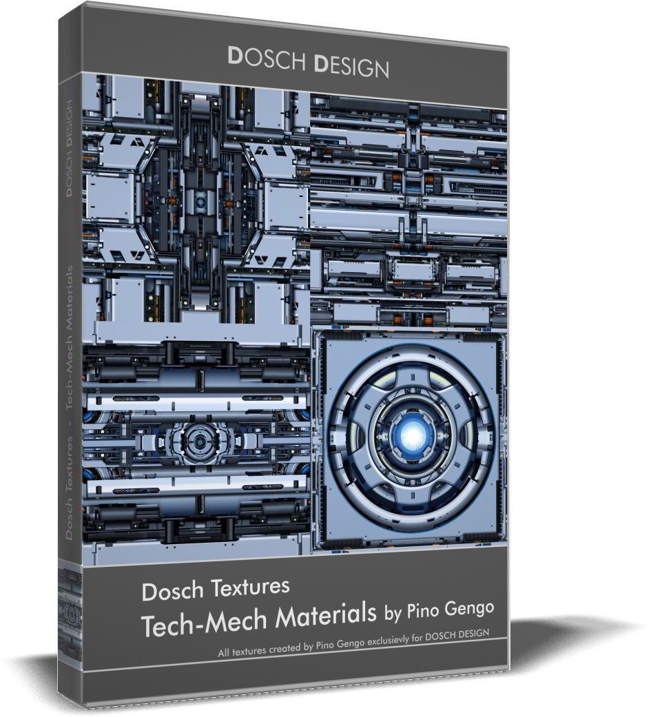 Dosch Textures: Tech-Mech Materials free download