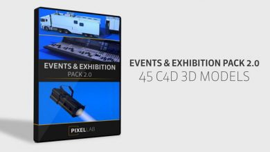The Pixel Lab – Events & Exhibition Pack 2.0