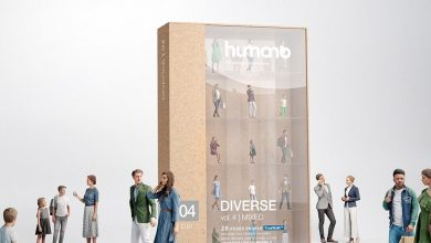 Humano 3D People Vol. 04 Diverse free download