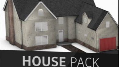 The Pixel Lab – Introducing the 3D House Pack