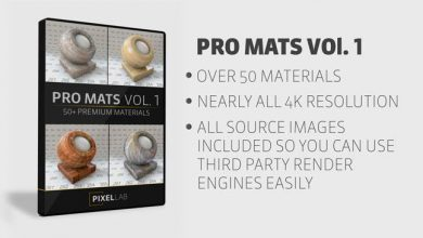 The Pixel Lab – Pro Mats Vol. 1 Material Pack