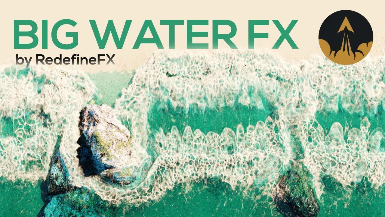 RedefineFX – Phoenix FD Advanced Large-Scale Water FX Course free download
