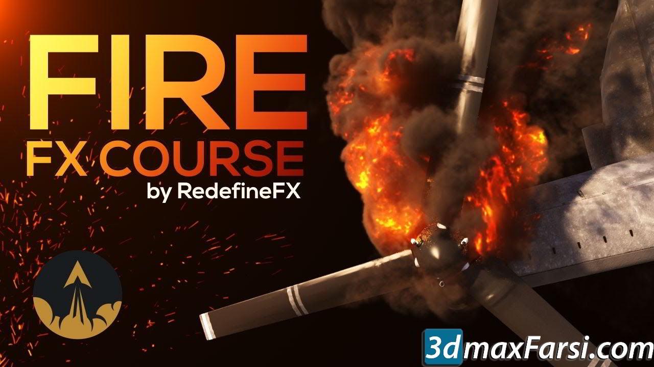 RedefineFX – Phoenix FD Fire & Smoke FX Course free download